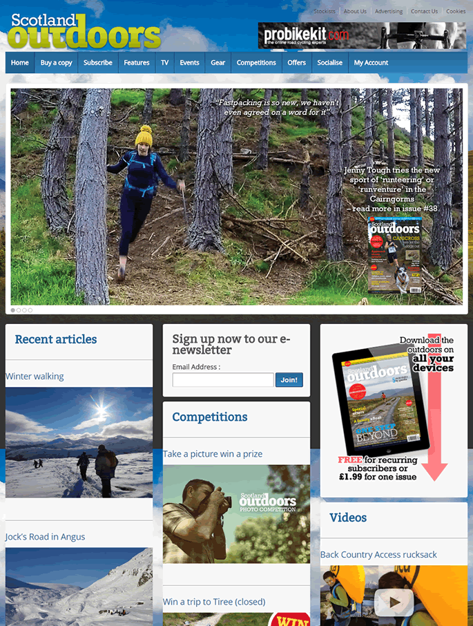 """Case Study: WooCommerce Subscriptions Customization for """"Scotland Outdoors"""" – Outdoors Enthusiast Magazine featured image"""