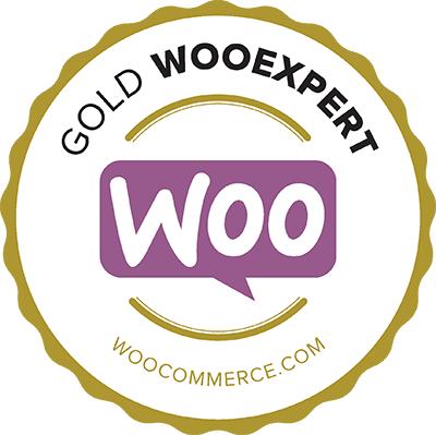 Gold WooExpert badge