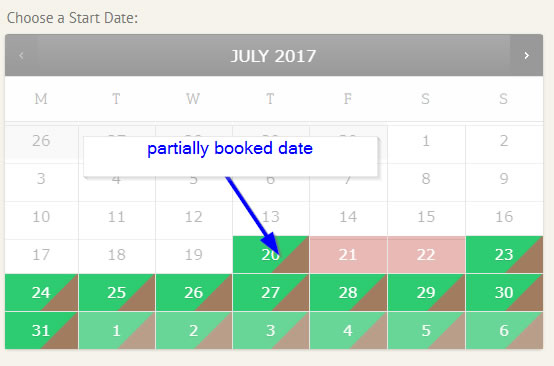 WooCommerce Accommodation Bookings – Hide partially booked dates from displaying red triangle featured image