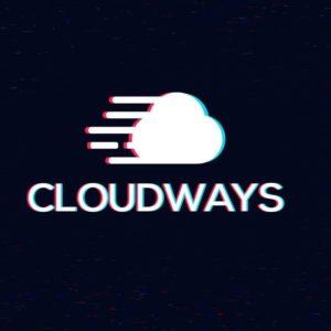 Cloudways logo offset navy
