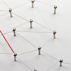 Connected pins like VPN