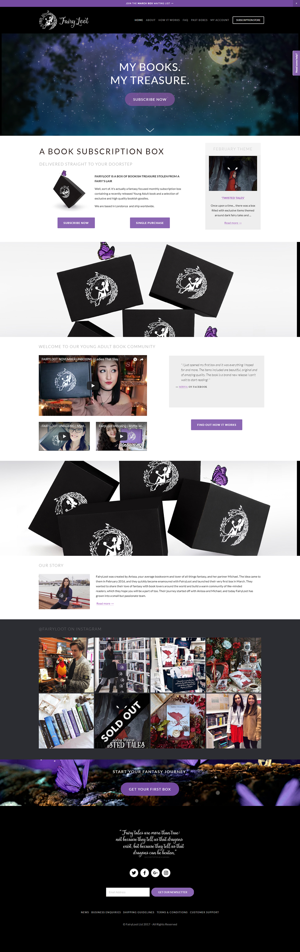 Case Study: One-off Big Traffic Optimization for Fairyloot featured image
