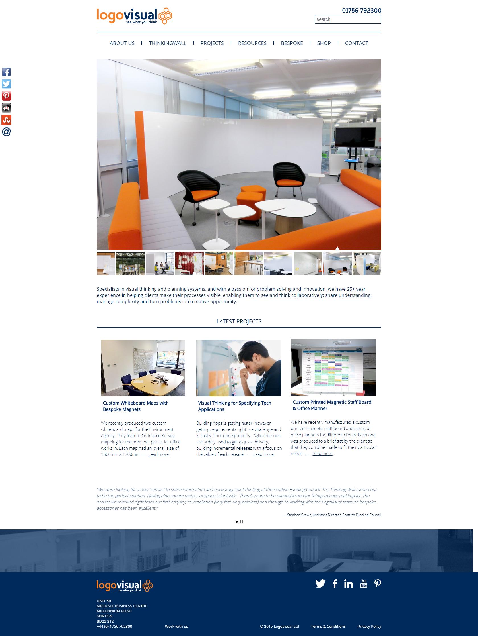 Case Study: WordPress Optimization for LogoVisual featured image
