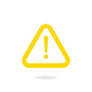 yellow caution icon