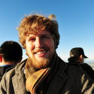 Matt Mullenweg on a Balloon ride in 2011