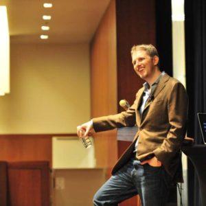 Matt Mullenweg at WordCamp San Francisco, 2009