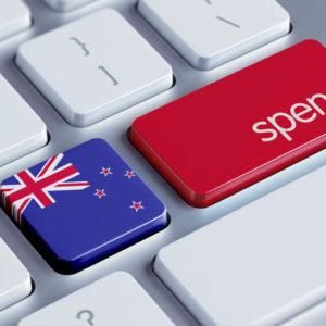 New Zealand online spending