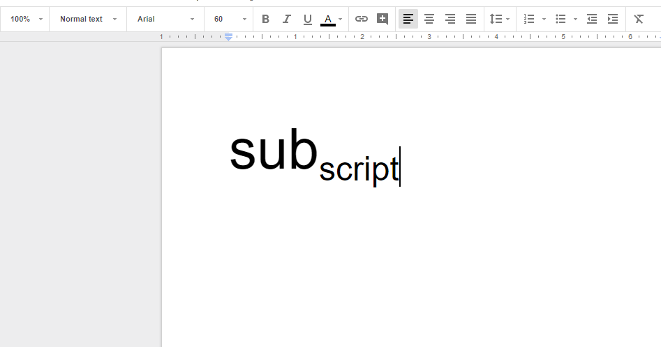 How to subscript in Google Docs featured image