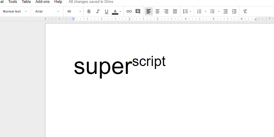 How to superscript in Google Docs featured image