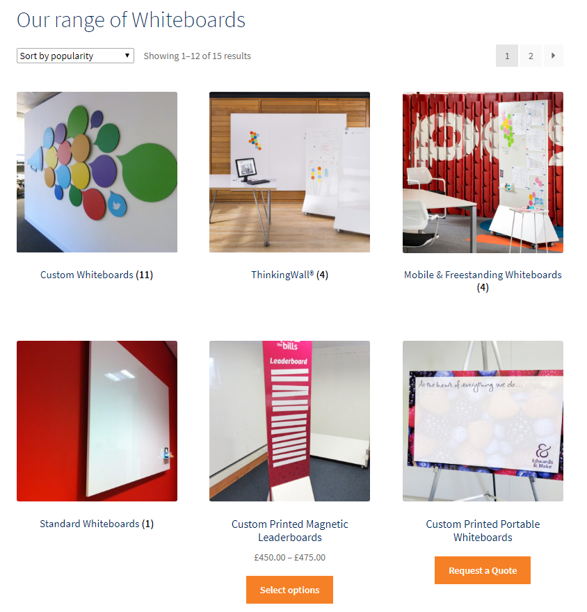 LogoVisual whiteboard page with full whiteboard range