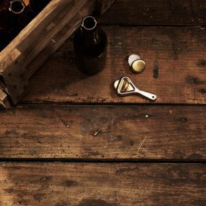 Wooden beer crate