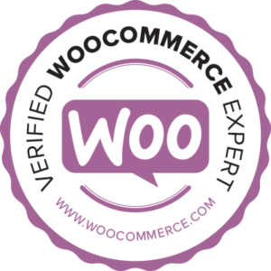 Official WooCommerce Expert badge