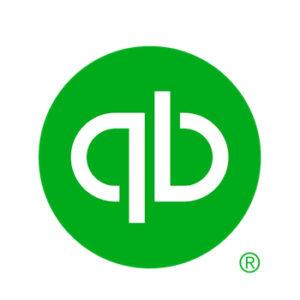 Quickbooks logo against white square