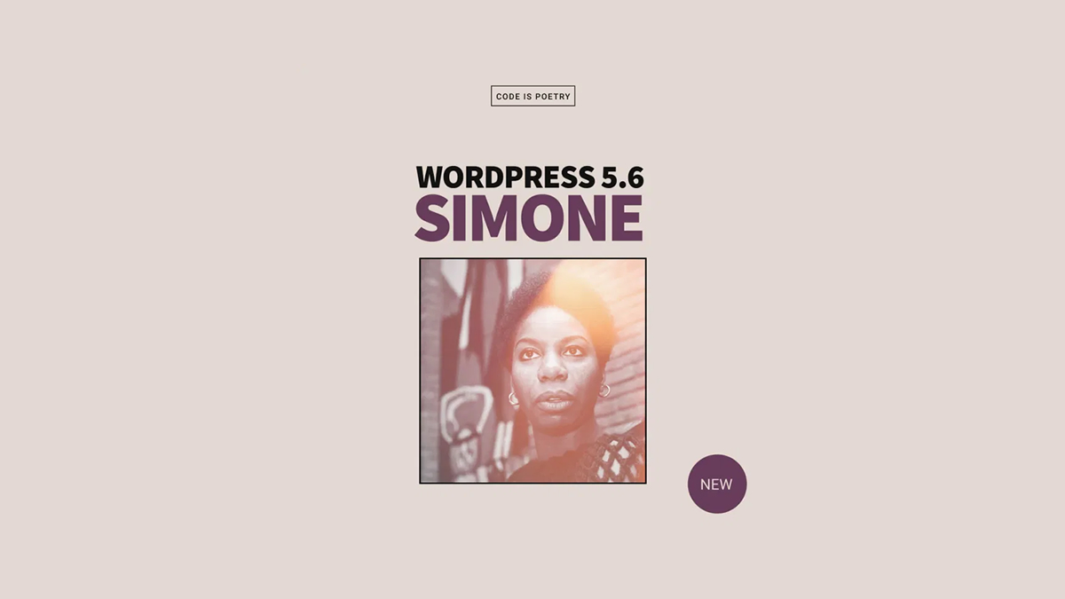 WordPress 5.6 Simone release